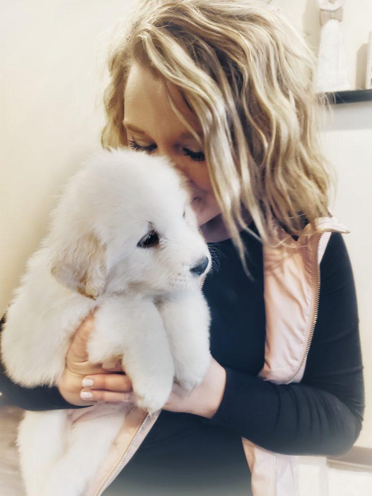 Shaylyn & Puppy